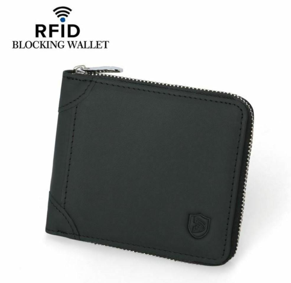 Mens Zipper Wallet